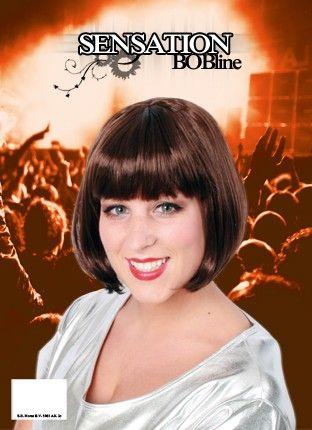 Bobline ladies wig brown sensation