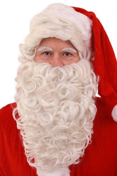 Santa Claus and beard