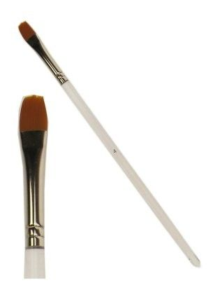 PXP paintbrush flat with rounded top size 8 mm wide