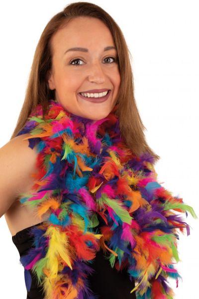 Alter Ego Boa Rainbow Feather
