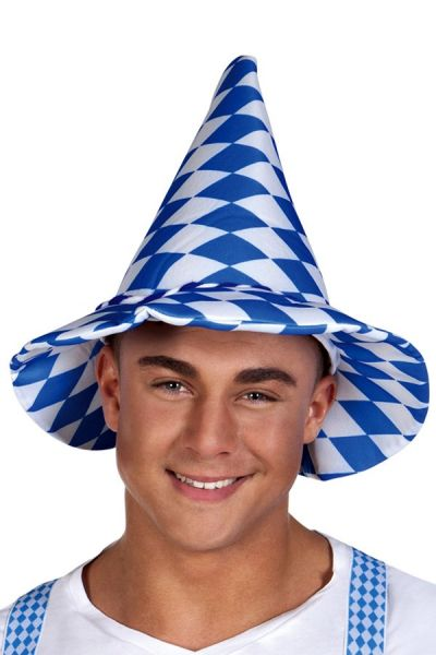 Oktoberfest Bayern hat blue white