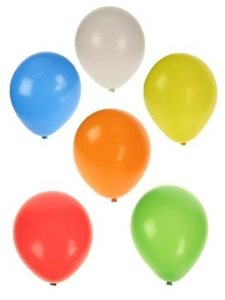 Balloons 50 x assorted colors size 9