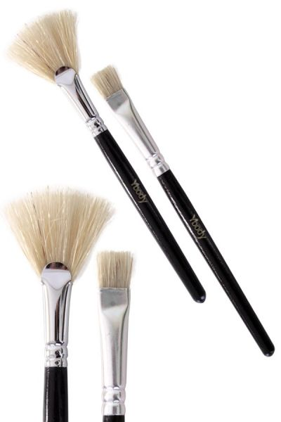 Glitter Tattoo 2 Brush set Ybody