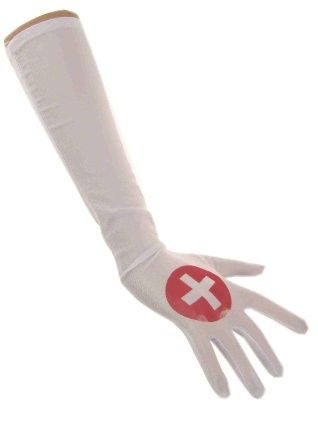Gloves nurse satin