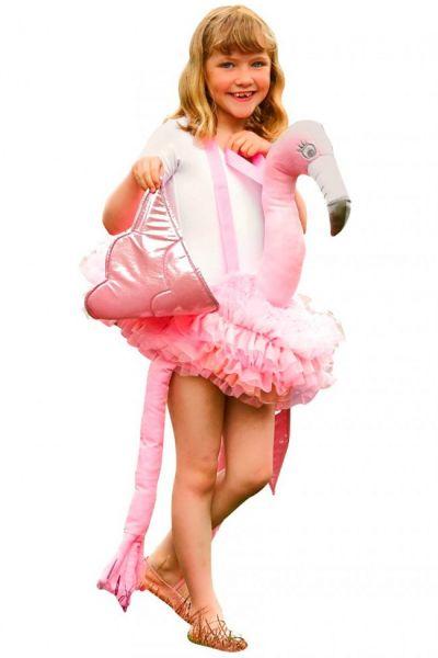Dress up ride on Flamingo