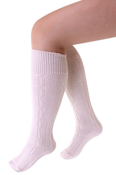 Oktoberfest Tyrolean socks briefly luxury ecru