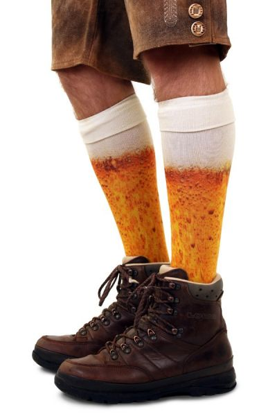 OKtoberfest funny beer socks