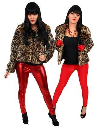 Wrong Panther ladies fur coat