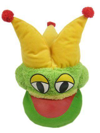 Hat frog prince