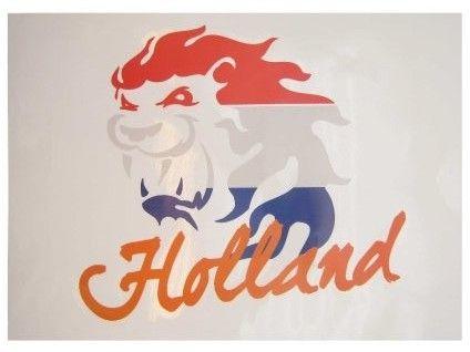 Window Sticker Dutch lion