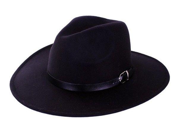 Cowboy hat Texas Ranger black