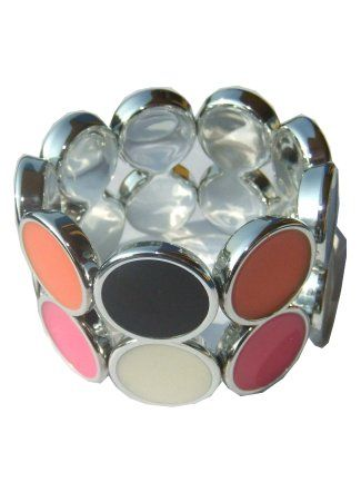 Bracelet duo dot colored