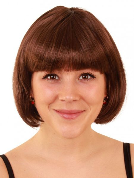 Bobline ladies wig brown sensation