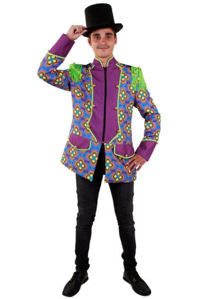 Colorful Flower Power men jacket