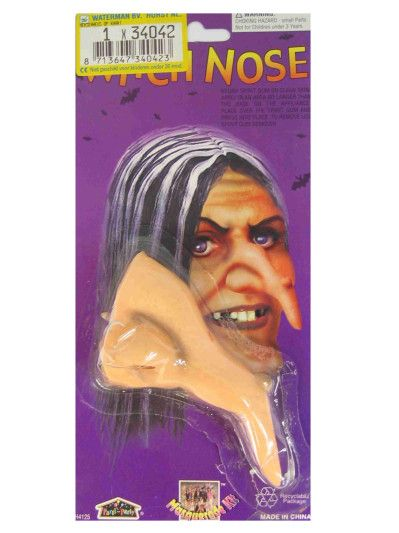 Witch Nose with warts