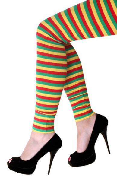 Legging red yellow green