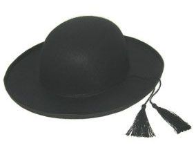 Pastor hat with tassel