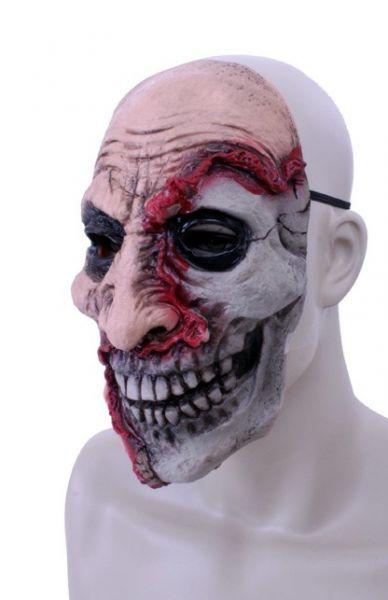 Horror mask latex half dead