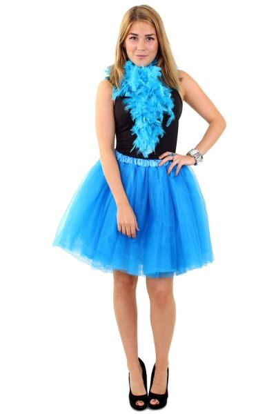 Tulle rock & roll skirt blue