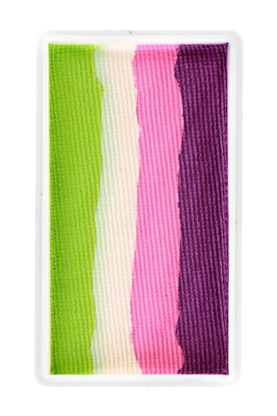 PXP split cake block Orchid Pink candy White Lime green