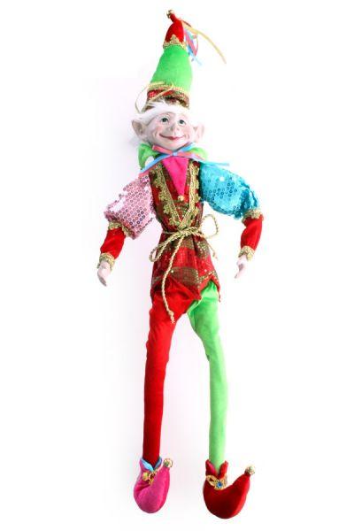 Clown doll pierrette 67 cm