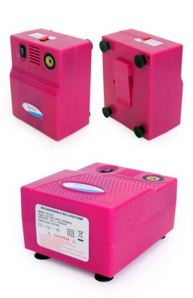 Balloon pump for modeling balloons rechargeable