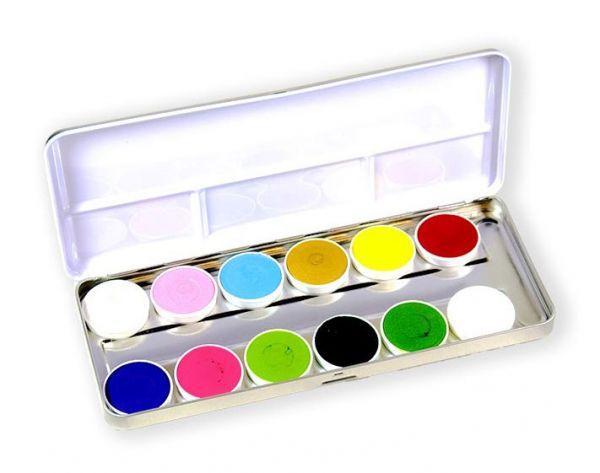 Superstar Facepaint palet Botanical 12 colours