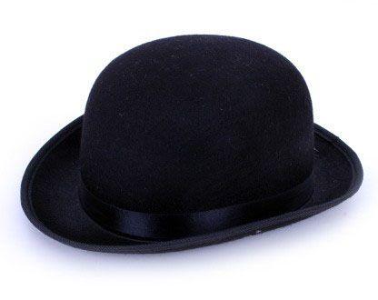 English bowler hat black
