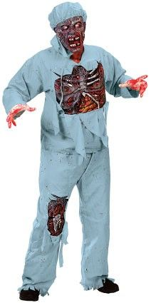 Halloween costume surgeon horror outfit