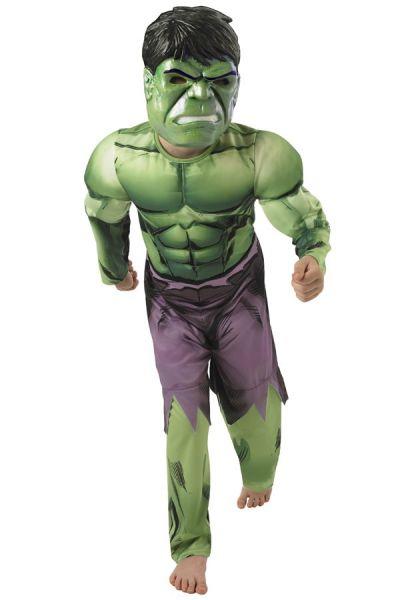 Hulk dress up child's chest