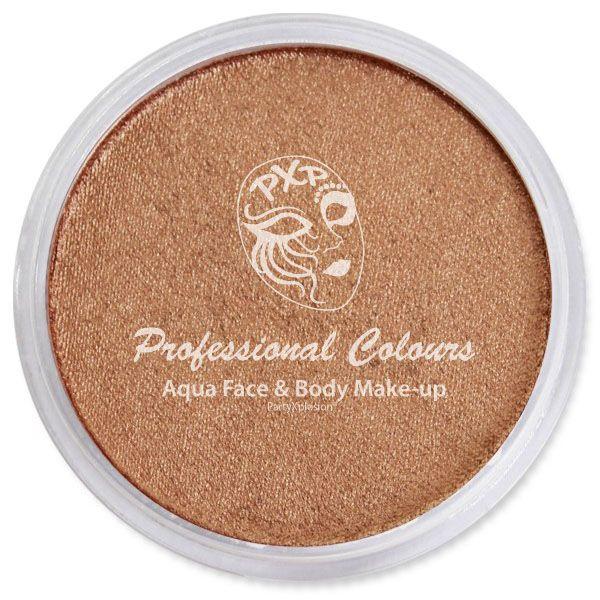 PartyXplosion facepaint Pearl Bronze