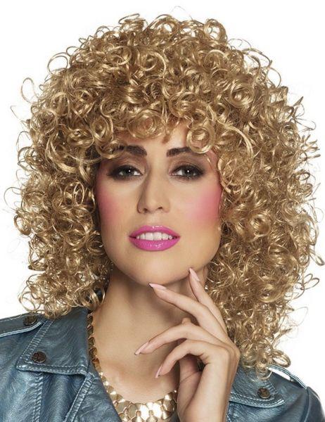 Curly wig Club blond