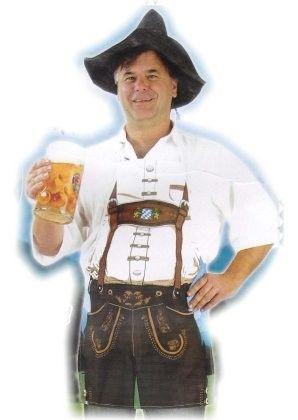 Oktoberfest clothing Beer apron Bayern Sep