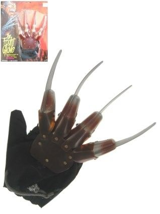 Halloween Freddy Kruger hand with knives