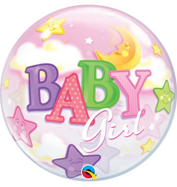 Bubble Balloon Baby Girl