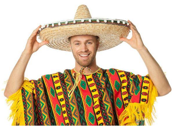 Mexicaanse Sombrero met balletjes