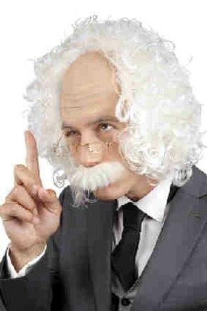 Wig professor Einstein