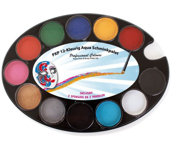 PXP 12-colored Aqua Makeup Palette