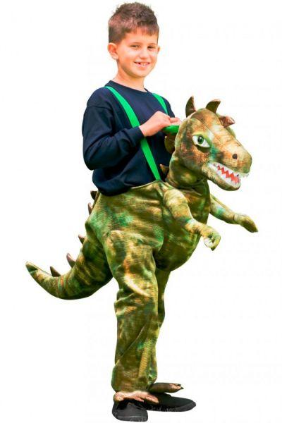Dress up ride on Dinosaurus