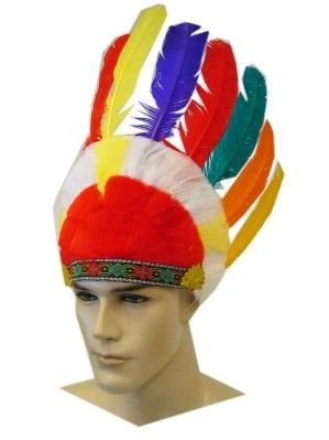 Indian headdress fireproof