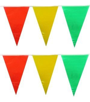 Flag line red yellow green