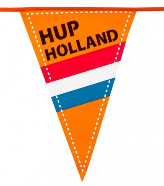Flag line Hup Holland 15 flags