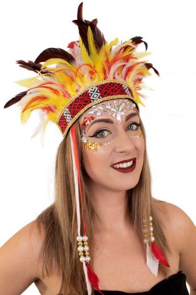 Indians feather headdress El Boscha