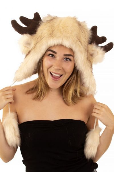 Cap plush luxury Elk