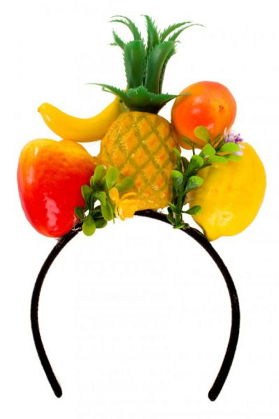 Diadem Hawaii tropical fruit headband tropical carnival