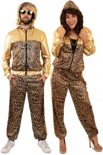 Wrong training suit pimp leopard print