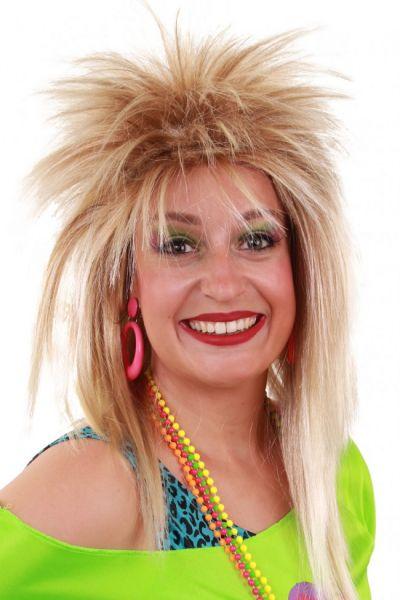 80s Wig Jezz blond