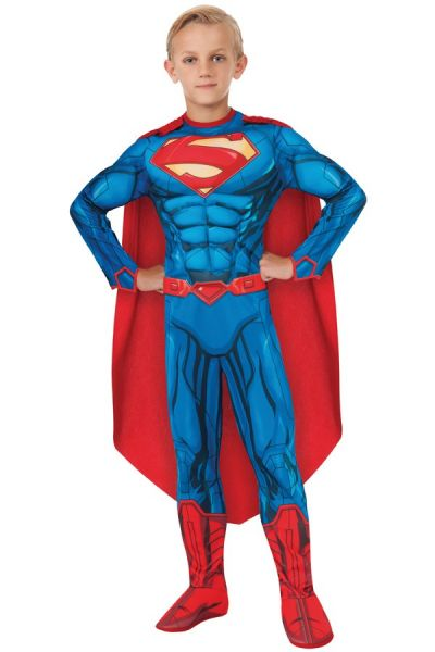 Superman muscle chest dress up child