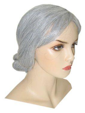 Old Grandma wig gray