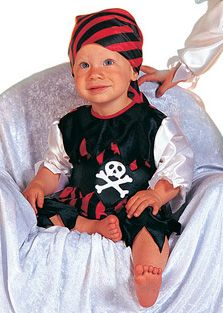 Baby Pirate pants with vest
